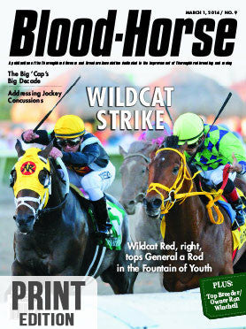The Blood-Horse: Mar 1, 2014 Print