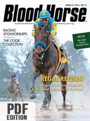 The Blood-Horse: Mar 21, 2015 PDF