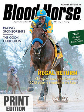 The Blood-Horse: Mar 21, 2015 Print