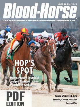 The Blood-Horse: Mar 22, 2014 PDF