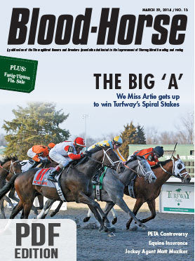 The Blood-Horse: Mar 29, 2014 PDF