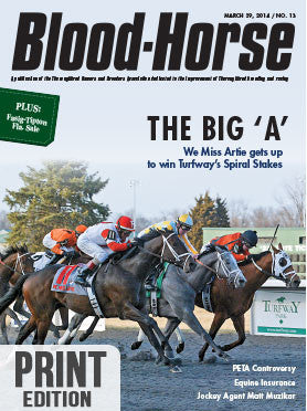 The Blood-Horse: Mar 29, 2014 Print
