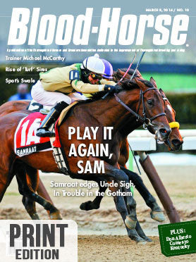 The Blood-Horse: Mar 8, 2014 Print