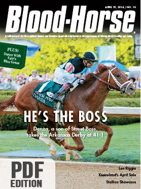The Blood-Horse: April 19, 2014 PDF