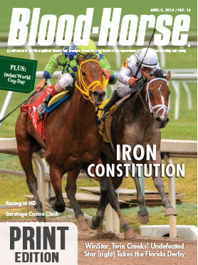 The Blood-Horse: April 5, 2014 Print