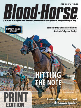 The Blood-Horse: June 14, 2014 Print