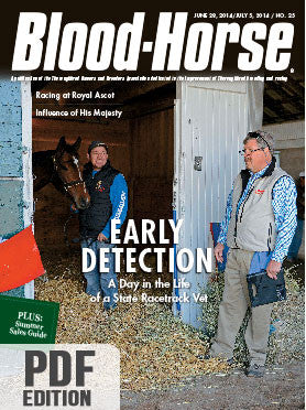 The Blood-Horse: June 28/July 5, 2014 PDF