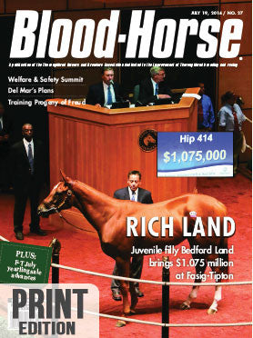 The Blood-Horse: July 19, 2014 Print