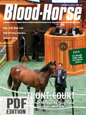 The Blood-Horse: Aug 16, 2014 PDF