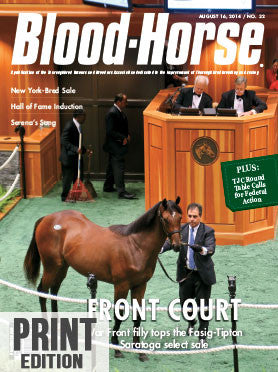 The Blood-Horse: Aug 16, 2014 Print