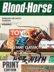 Blood-Horse: August 29, 2015 Print
