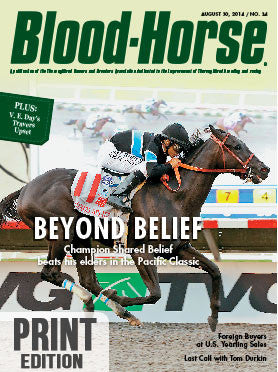 The Blood-Horse: Aug 30, 2014 Print