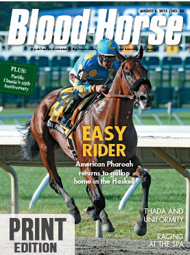 Blood-Horse: August 8, 2015 Print