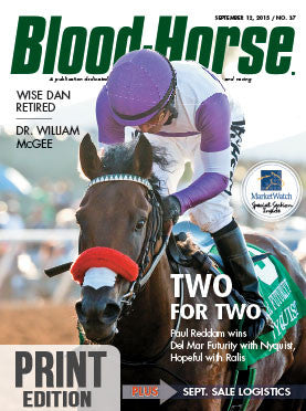 Blood-Horse: September 12, 2015 Print