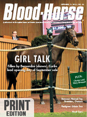 The Blood-Horse: Sept 13, 2014 Print