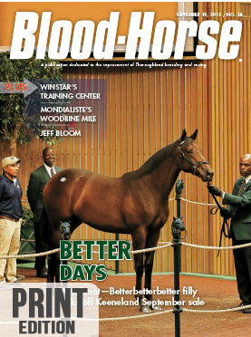 Blood-Horse: September 19, 2015 Print