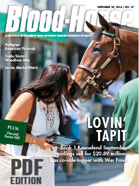 The Blood-Horse: Sept 20, 2014 PDF