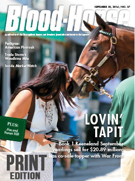 The Blood-Horse: Sept 20, 2014 Print