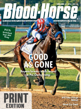 The Blood-Horse: Sept 27, 2014 Print