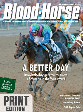 The Blood-Horse: Sept 6, 2014 Print