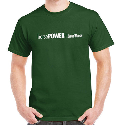 "Blood-Horse ""horsePOWER"" T-Shirt"