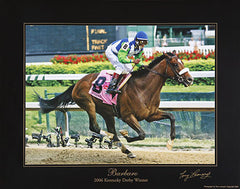 Barbaro: Signed by Tony Leonard