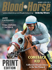 Blood-Horse: January 16, 2016 Print