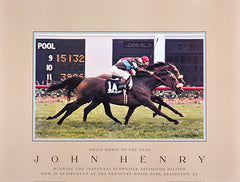 John Henry: Horse of the Year by Tony Leonard
