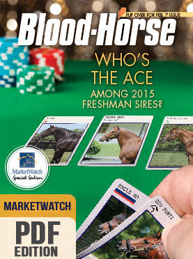 Blood-Horse MarketWatch: February 7, 2015 PDF