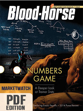 Blood-Horse MarketWatch: March 7, 2015 PDF