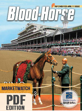 Blood-Horse MarketWatch: April 11, 2015 PDF