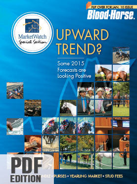 Blood-Horse MarketWatch: January 10, 2015 PDF