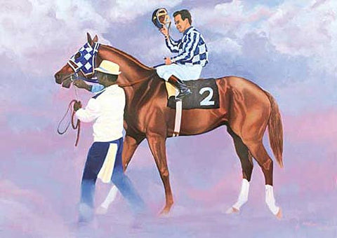 A Tribute to Secretariat by Nick Martinez