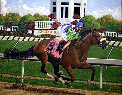 Barbaro Kentucky Derby by Nick Martinez
