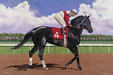 American Champion Thoroughbred: Ruffian by Nick Martinez