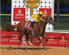 Curlin in Dubai by Nick Martinez