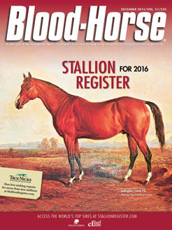The Blood-Horse Stallion Register for 2016 Print