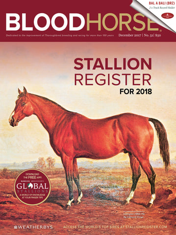BloodHorse Stallion Register for 2018 Print