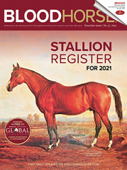 BloodHorse Stallion Register for 2021 Print
