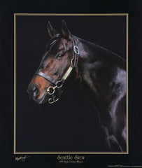 Seattle Slew by Tony Leonard