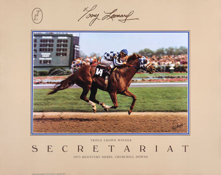 Secretariat: Triple Crown Winner by Tony Leonard