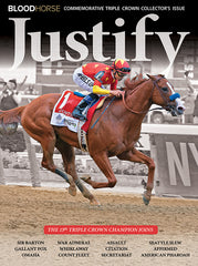 Justify Commemorative Triple Crown Collector's Issue