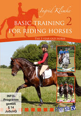 Basic Training for Riding Horses Volume 2