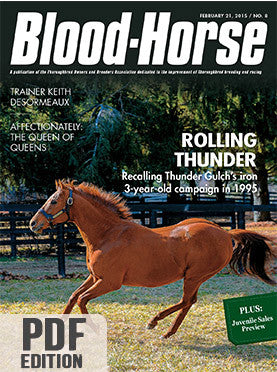 The Blood-Horse: Feb 21, 2015 PDF