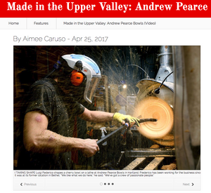 Made in the Upper Valley: Andrew Pearce Bowls
