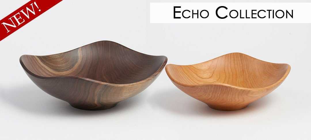 Echo Collection Handmade Wooden Bowls