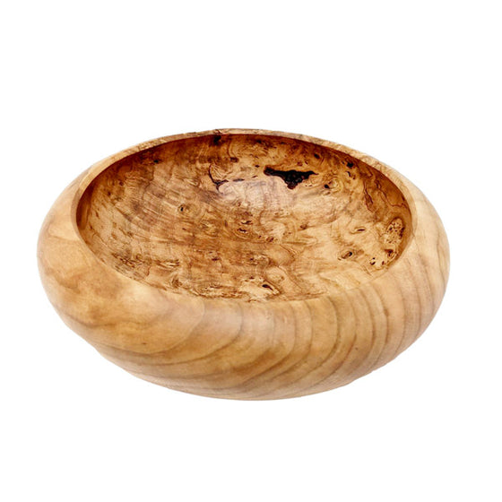 Cherry Burl Bowl - Centerpiece 9 Inch