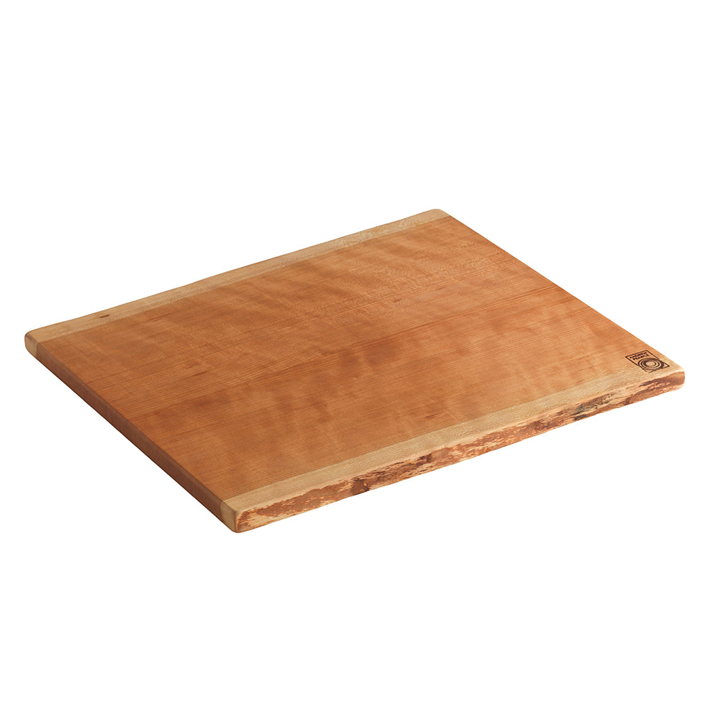 Double Live Edge Wood Cutting Board in Cherry