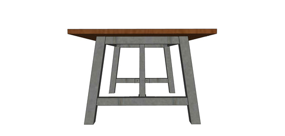 Meeting House Dining Table - Andrew Pearce Bowls