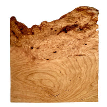 Cherry Burl Square Plate
